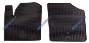 Резиновые коврики в салон Citroen Berlingo 1999-2008, 2шт. (Бютжет)