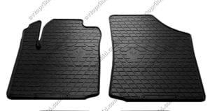 Резиновые коврики в салон Citroen C2 2003-2008, 2шт. (Stingray)