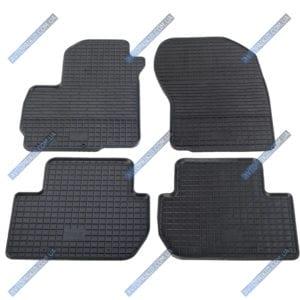 Резиновые коврики в салон Citroen C-Crosser 2007-2013, 4шт. (Stingray)
