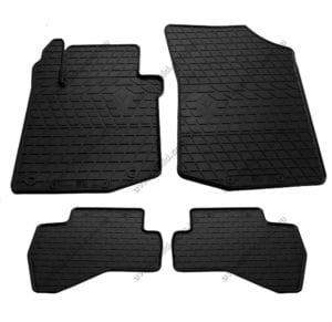 Резиновые коврики в салон Citroen C1 2005-2014, 4шт. (Stingray)