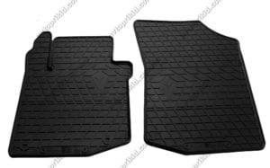 Резиновые коврики в салон Citroen C1 2005-2014, 2шт. (Stingray)