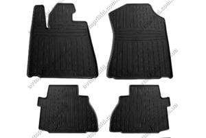 Резиновые коврики в салон Toyota Sequoia 2008->, 4 шт. (Stingray)