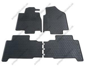 Резиновые коврики в салон Acura MDX 2006-2014, 4шт. (Stingray)