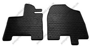 Резиновые коврики в салон Acura MDX 2014->, 2шт. (Stingray)