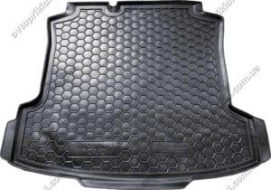 Багажник полимерный, Volkswagen Polo седан 2010->(Avto-Gumm)