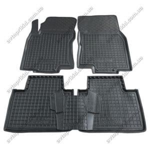 Полиуретановые коврики в салон Nissan X-Trail 2014->, 5шт.(Avto-Gumm)
