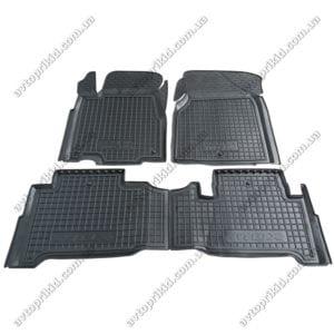 Полиуретановые коврики в салон Acura MDX 2006-2014, 5шт.(Avto-Gumm)
