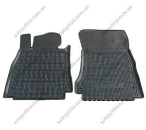 Полиуретановые коврики в салон Mercedes S-класс 2013->, 2шт. (Avto-Gumm)