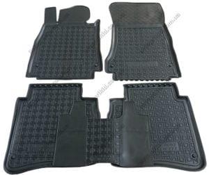 Полиуретановые коврики в салон Mercedes S-класс 2013-> Long, 5шт. (Avto-Gumm)