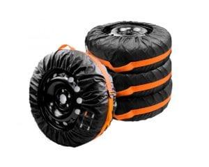 Чехлы для хранения и транспортировки шин и колес.