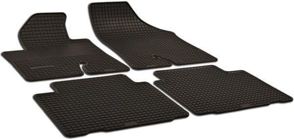 Резиновые коврики в салон Hyundai ix-55 2007-2012, 4шт. (Doma)