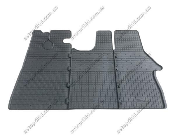 Резиновые коврики в салон Citroen Jumper 1994-2006, 3шт. (Butget)