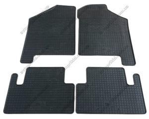 Резиновые коврики в салон ВАЗ 2108-09-099, 4шт. (Бютжет)