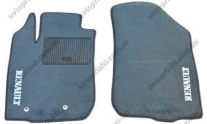 Текстильные коврики в салон Renault Duster 2010->, 2шт. (Украина, ML)