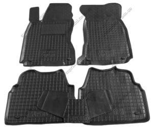Полиуретановые коврики в салон Skoda Superb 2002-2008, 5шт. (Avto-Gumm)