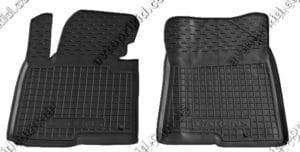 Полиуретановые коврики в салон Kia Carens 2012-> 5 мест, 2 шт. (Avto-Gumm)