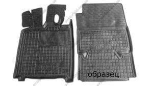 Полиуретановые коврики в салон Smart Fortwo 2014->, 2шт. (Avto-Gumm)