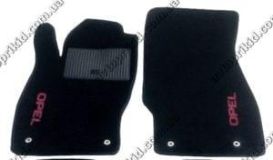 Текстильные коврики в салон Opel Corsa D 2006-2014,  2шт. (ML, черный)