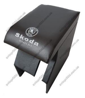 подлокотник в салон автомобиля skoda octavia a5 2004-2013