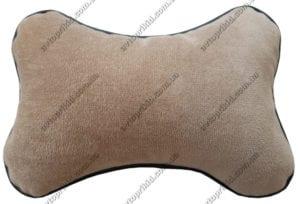 подушка на подголовник бежевая