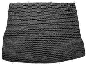 Севиленовый, ячейчастый ковёр в богажник Volkswagen Tiguan 2016->, чёрный (EVA)