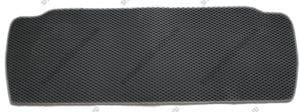 Севиленовый, ячейчастый ковёр в багажник Toyota Sequoia 2008-> короткий,  серый (EVA)