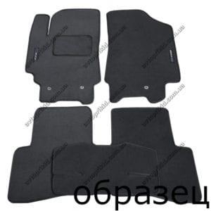 Текстильные коврики в салон Hyundai Coupe 1996-2009, 5 шт. (Fortuna)