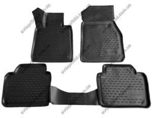Полиуретановые 3D коврики в салон BMW 3 серия 2012->, 4шт. (черный) (Element)
