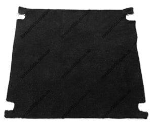 Текстильный коврик в багажник BMW X5 2006-2013 (LUX)