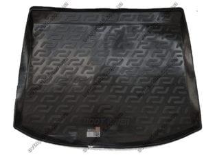Коврик в багажникMazda 3 2003-2009, хэтчбек  (L.Locker, чёрный)